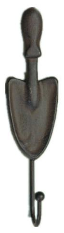 Вешалка Green Apple Лопатка, настенная, цвет: черныйGBL3-1089Вешалка Green Apple Лопаткаизготовлена из чугуна, красивая и практичная в повседневной жизни вещи. Крепкая и надежная чугунная вешалка прослужит долгие годы.