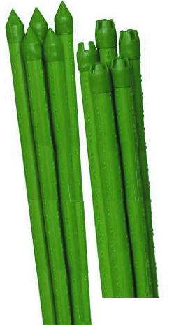 Опора для растений Green Apple Бамбук, цвет: зеленый, диаметр 0,8 см, длина 90 см, 5 штGCSB-8-90Опора для растений Green Apple Бамбук выполнена из высококачественного металла, покрытого цветным пластиком. В наборе 5 опор, выполненных в виде стеблей бамбука.Такие опоры широко используются для поддержки декоративных садовых и комнатных растений. Также могут применяться для поддержки вьющихся растений в парниках.Диаметр опоры: 0,8 см.Комплектация: 5 шт.