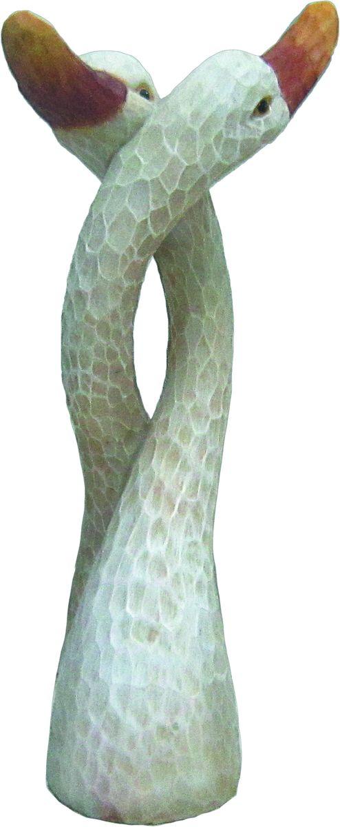 Фигурка садовая Green Apple Лебеди, 16 х 12 х 32 см садовая химия