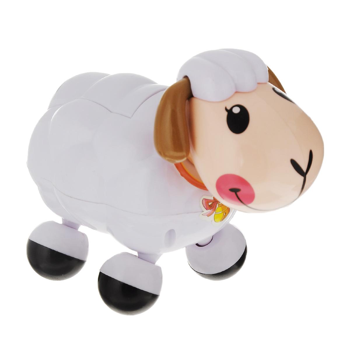 """Электронная развивающая игрушка """"Веселая овечка"""", цвет: белый, Mommy Love"""
