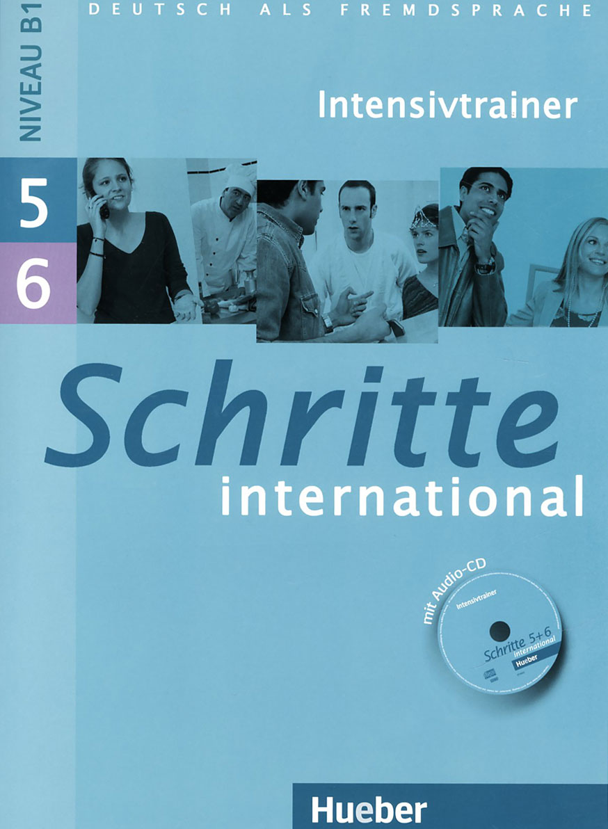 Schritte international 5, 6: Intensivtrainer (+ CD-ROM)
