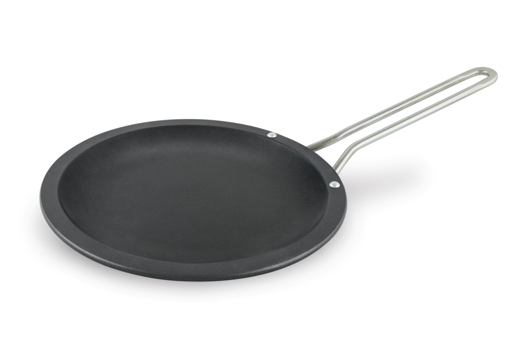 Сковорода 30 ПР литая блинная (полимер-керам.) металлическая ручка Нева Металл Посуда(10) сотейник 24 пр литой со с руч полимер керам 916941