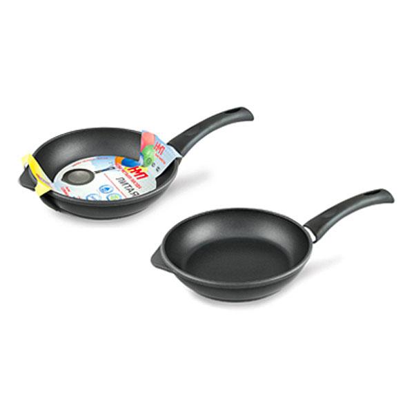 Сковорода 22 ПР литая Удобная Нева Металл Посуда(8) сковороды нева металл посуда набор сковорода 26 пр литая скандинавия black со стеклян крышкой