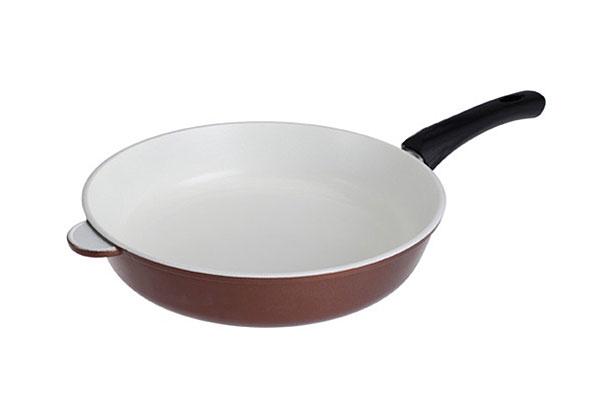 Сковорода 28 литая Гор. Шоколад с керамическим покрытием, с/ручка, Нева металл посуда (10)201028Сковорода 28 литая Гор. Шоколад с керамическим покрытием, с/ручка, Нева металл посуда (10) Материал: литой алюминий
