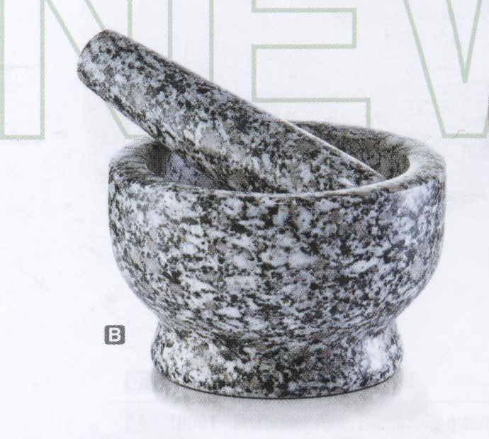 Ступка с пестиком , 13х8см. камень 2450324503Ступка с пестиком , 13х8см. камень 24503