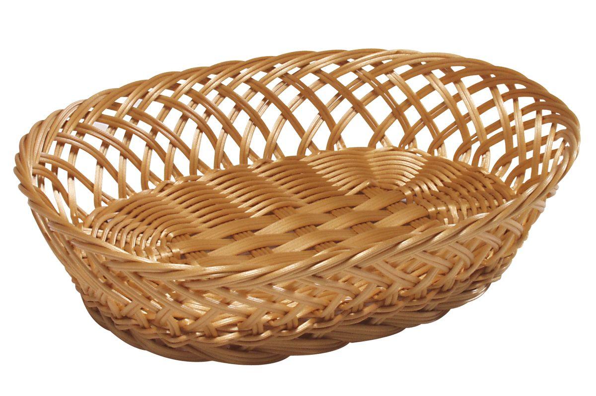 Корзинка для фруктов Kesper, 30,5 х 23 х 9 см 1784-41784-4Оригинальная плетеная корзинка Kesper овальной формы, выполнена из пластика, напоминающего фактуру дерева. Корзинка прекрасно подойдет для вашей кухни. Она предназначена для красивой сервировки фруктов.Изящный дизайн придется по вкусу и ценителям классики, и тем, кто предпочитает утонченность и изысканность. Можно мыть в посудомоечной машине. Размер корзинки: 30,5 см х 23 см х 9 см.