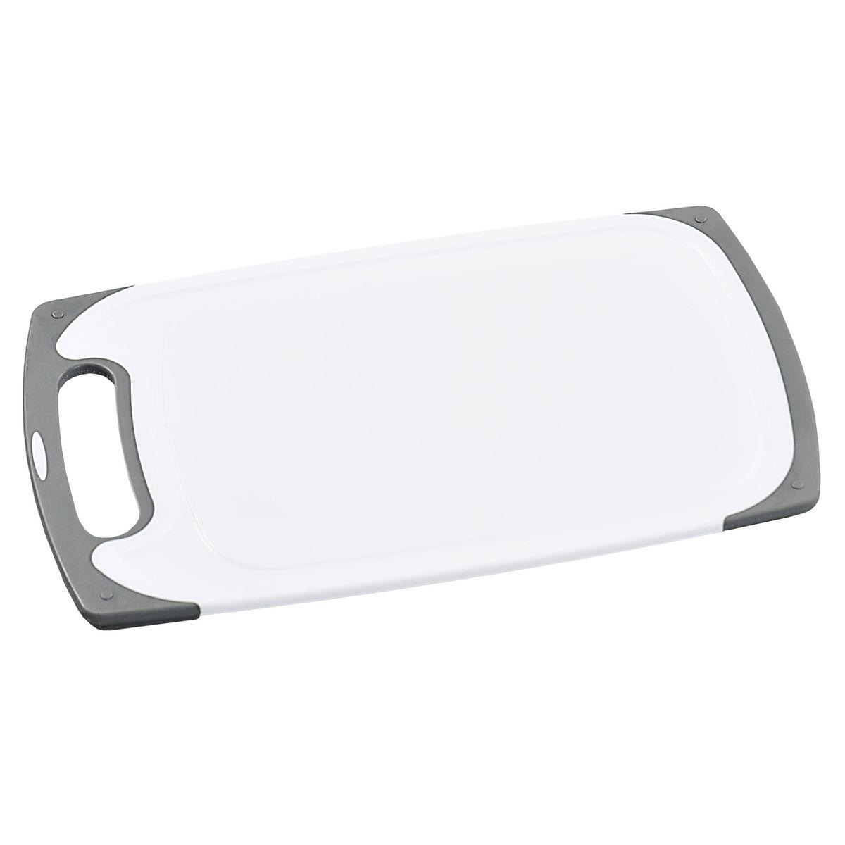 Доска разделочная Kesper, цвет: белый, серый, 31,5 см х 19,5 см х 1 см3075-0Разделочные доска Kesper изготовлена из высококачественного пластика. Такая доска займет достойное место среди аксессуаров на вашей кухне. Она прекрасно подойдет для нарезки любых продуктов. Доска устойчива к деформации и высоким температурам. Разделочная доска Kesper прекрасно впишется в интерьер любой кухни и прослужит вам долгие годы.