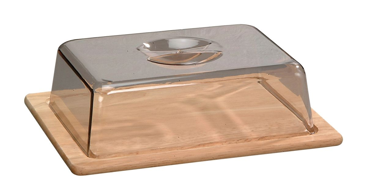 Колпак для хлеба и сыра Kesper, 26 х 20 х 7,5 см6864-3Колпак Kesper предназначен для хранения хлеба и сыра. Он поможет продуктам дольше оставаться свежими и не заветриться. Основание колпака выполнено из дерева, верх - из нетоксичного пластика.
