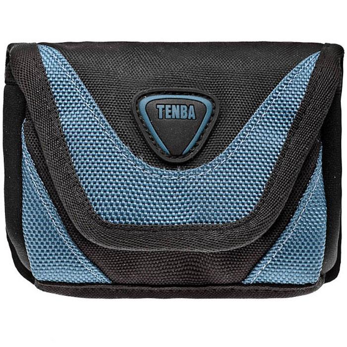 Tenba Mixx Pouch Large, Blue чехол для фотокамерыFA00003KBKЧехол Tenba Mixx Pouch Large прекрасно подходит для защиты и хранения небольших цифровых фотокамер. Вы можете носить его на поясе или с наплечным ремнем. В чехол помещаются компактная цифровая фотокамера, дополнительный аккумулятор и карта памяти.