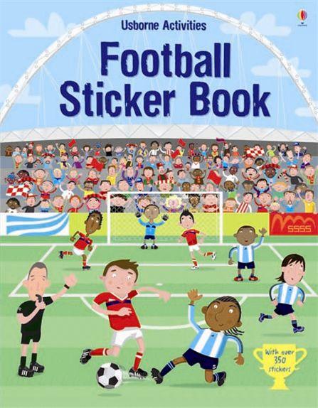 Football Sticker Book ultimate sticker book dangerous dinosaurs