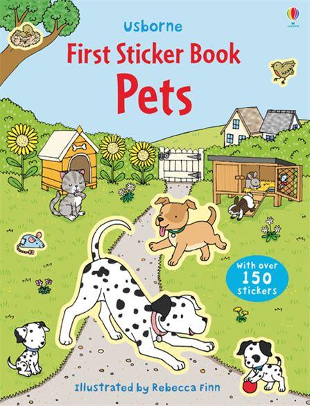 First Sticker Book: Pets first sticker book ponies