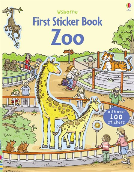 First Sticker Book: Zoo the usborne big book of sea creatures big books page 4