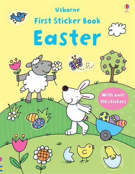 First Sticker Book: Easter ultimate sticker book dangerous dinosaurs