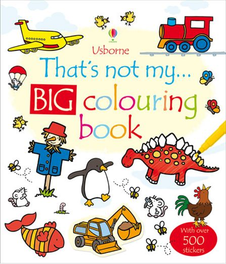 That's Not My Big Colouring Book super safari 2 big book