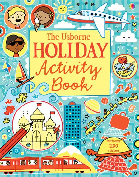 Holiday Activity Book space activity book