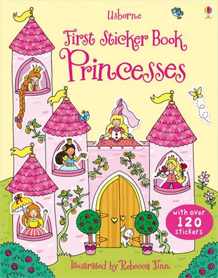 First Sticker Book: Princesses ultimate sticker book dangerous dinosaurs