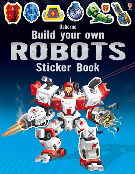 Build Your Own Robots sticker book write your own book