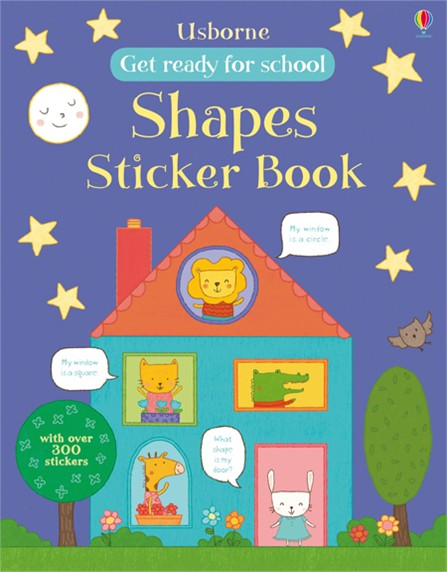 Shapes sticker book maisy s farm sticker book