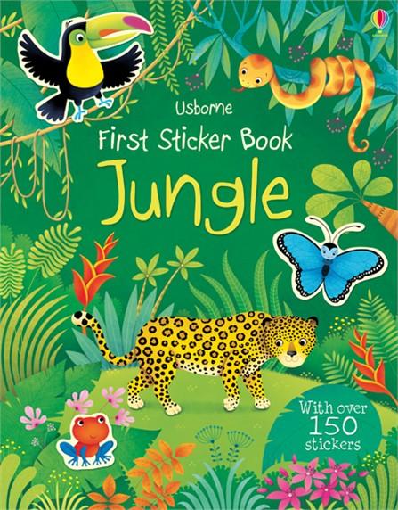 First Sticker Book: Jungle ultimate sticker book dangerous dinosaurs