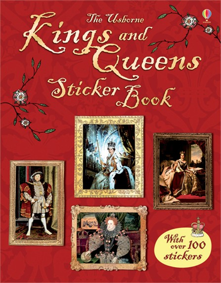 цены Kings and Queens sticker book