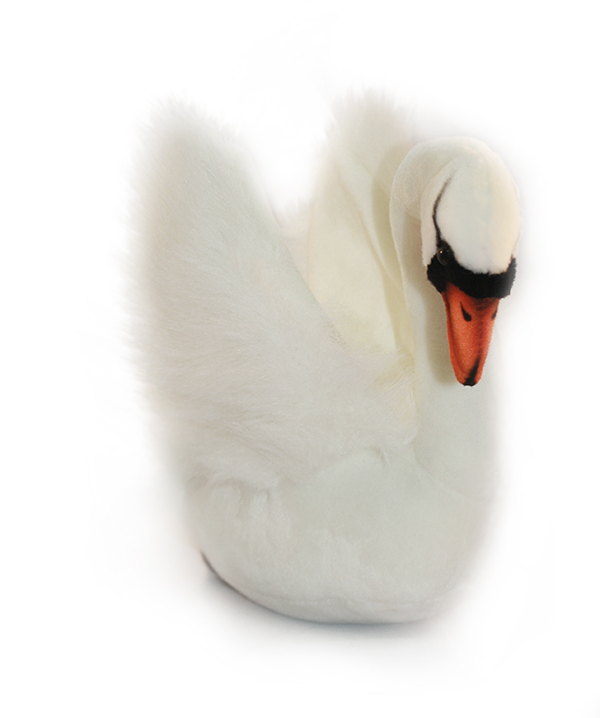 Hansa Мягкая игрушка Лебедь белый 32 см hansa смесительhansa polo 51442173 для ванны с душем