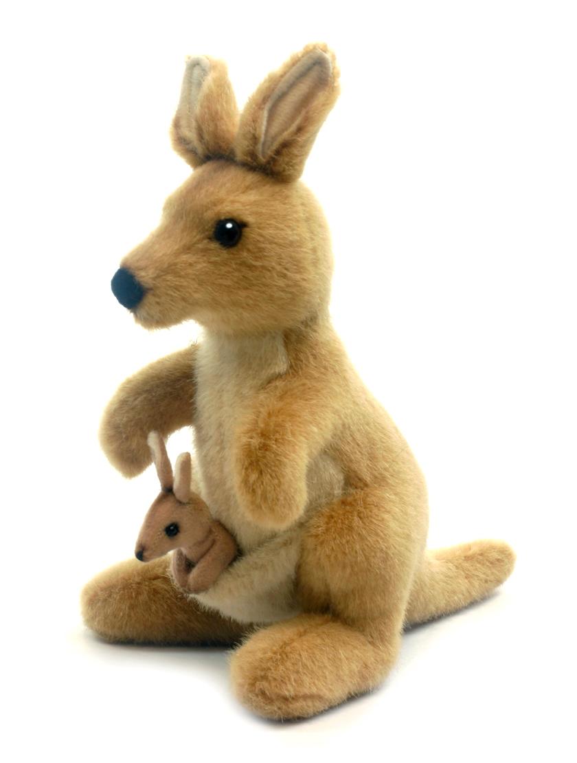 Hansa Мягкая игрушка Кенгуру 20 см развивающие игрушки tolo toys кенгуру первые друзья