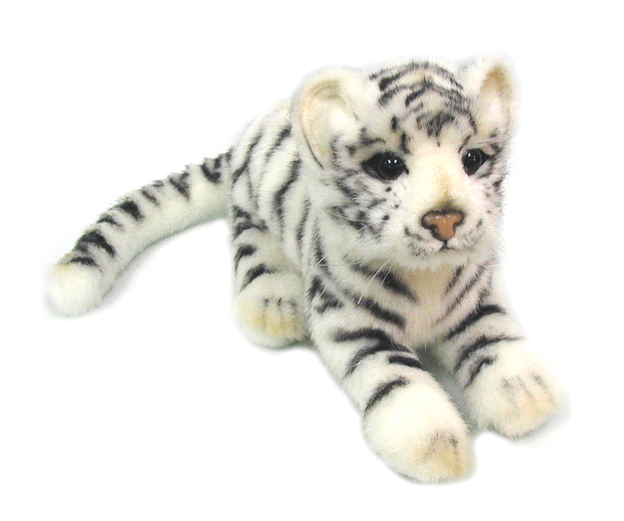 Hansa Toys Мягкая игрушка Детеныш белого тигра 26 см