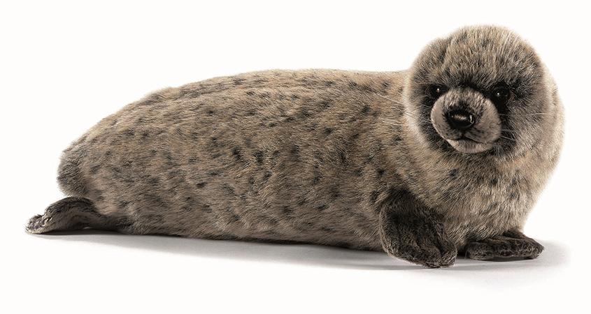 Hansa Мягкая игрушка Тюлень 38 см мягкие игрушки hansa гренландский тюлень 38 см