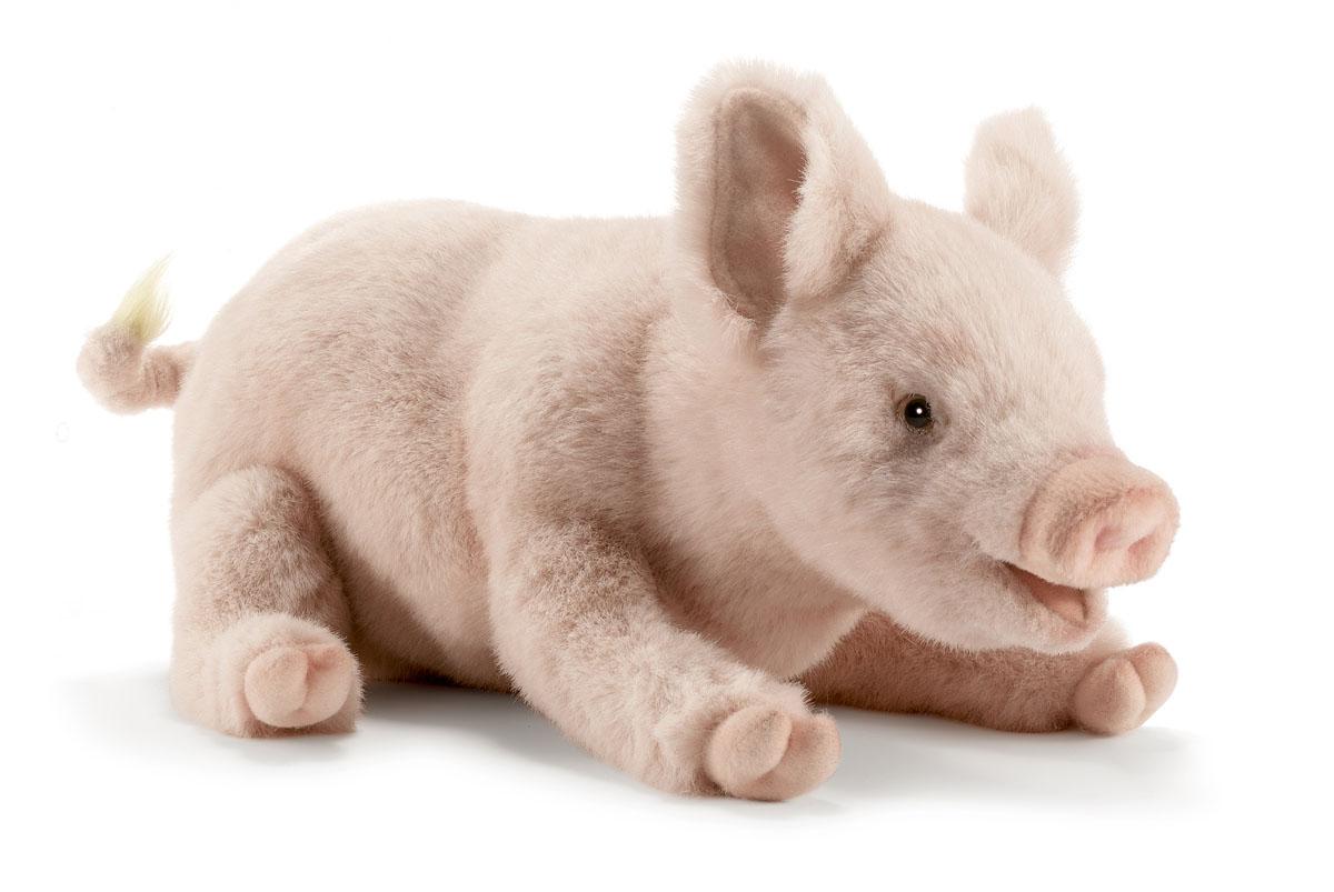 Hansa Мягкая игрушка Свинка 28 см купить гранулы для производства полиэфирного волокна