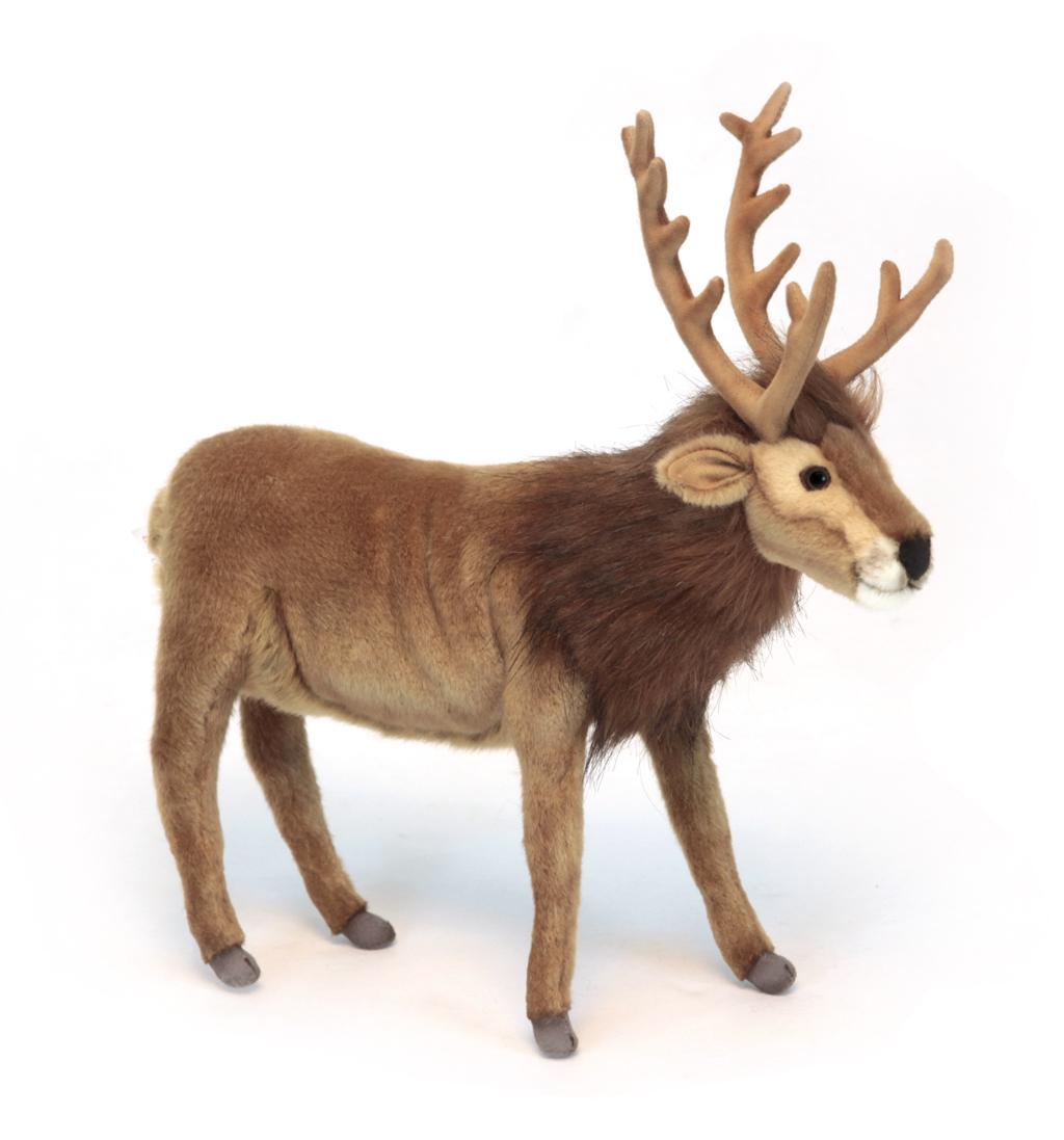 HansaМягкая игрушка Северный олень 35 см