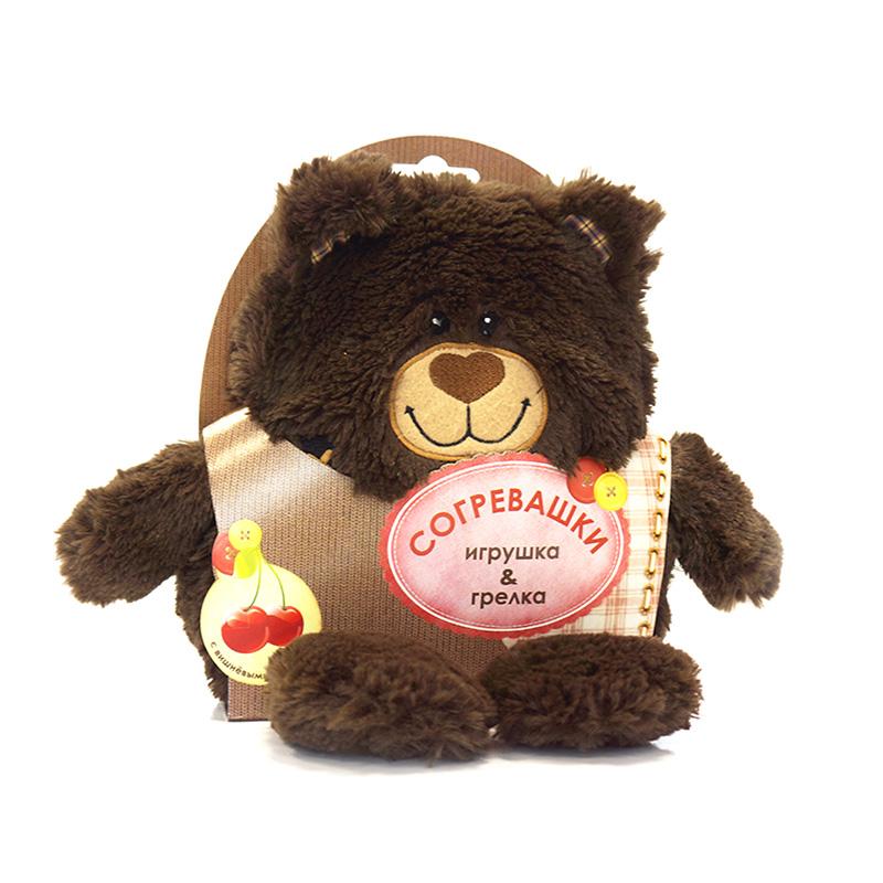 MAXITOYS Грелка-Игрушка Медвежонок грелка из вишневых косточек