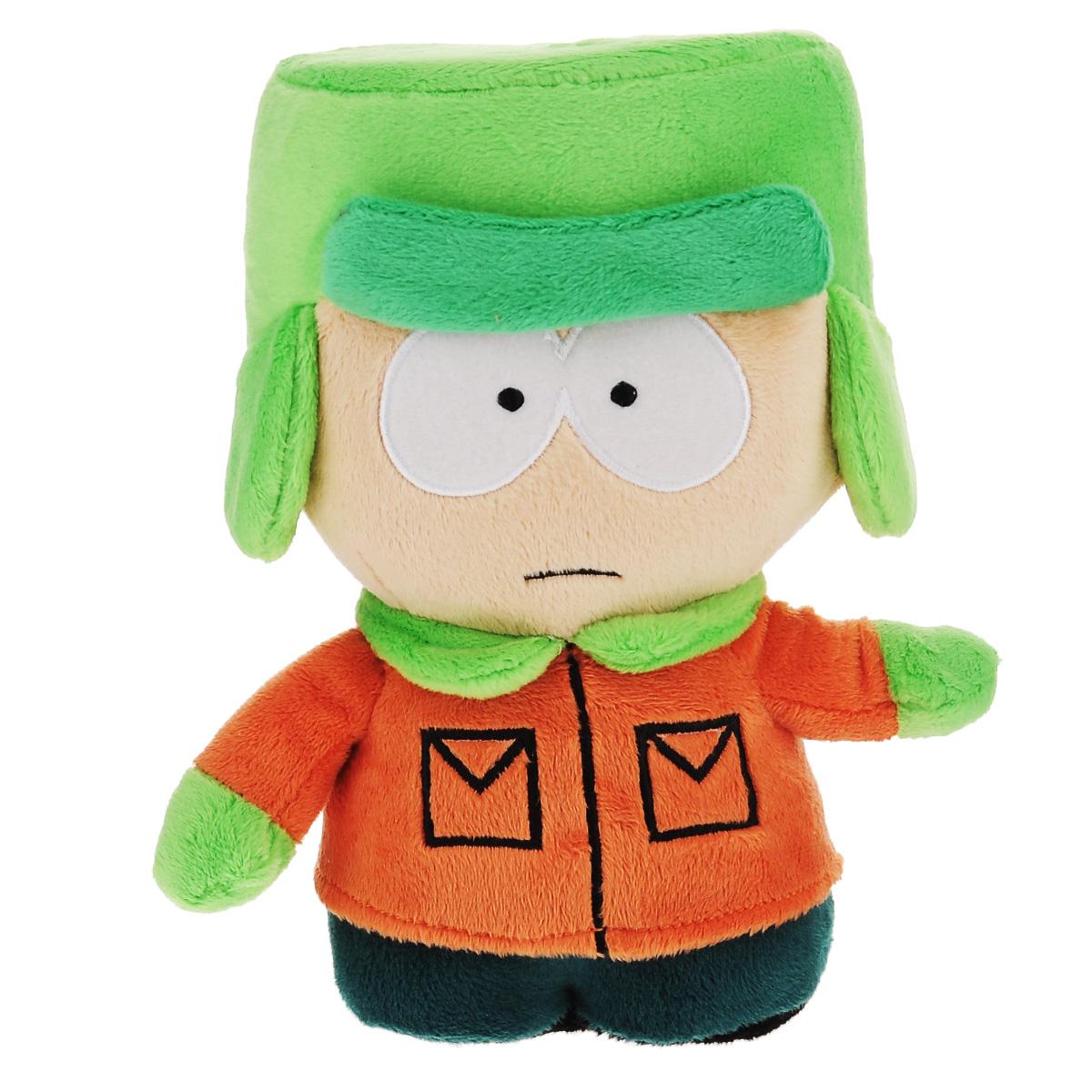 Мягкая озвученная игрушка South Park Кайл, 22 см мягкая игрушка кайл 12см с чипом 1toy южный парк