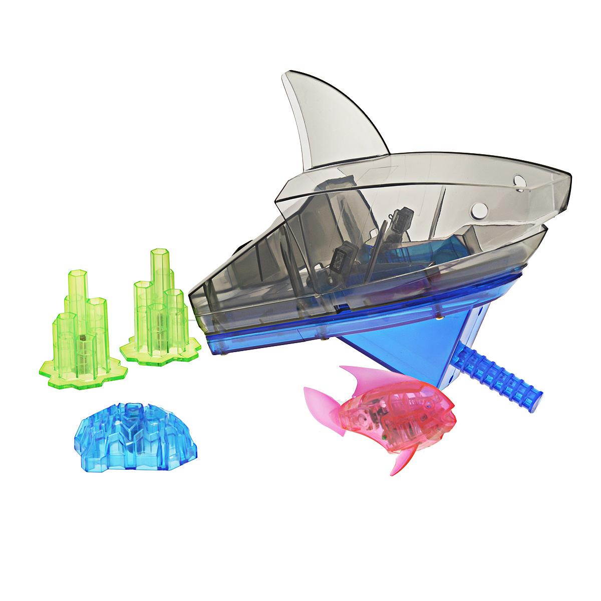 Игровой набор Aqua Bot Shark Tank, цвет: розовый sc bot