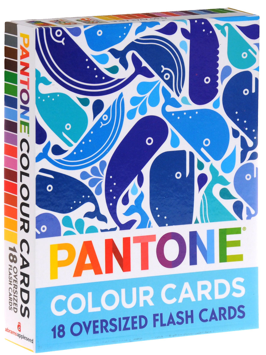 Купить Pantone: Colour Cards: 18 Oversized Flash Cards