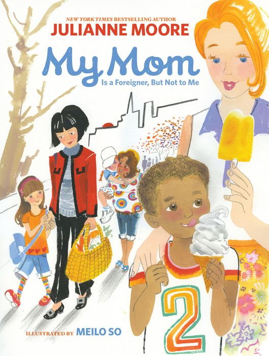 My Mom Is a Foreigner, But Not to Me my mum by me a dodle book all about my mum