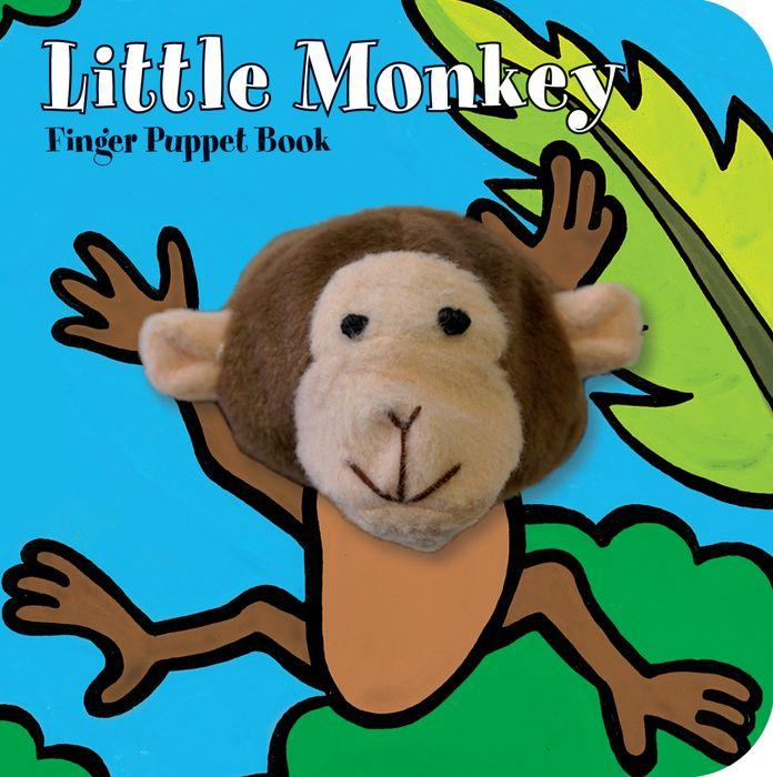 Little Monkey: Finger Puppet Book