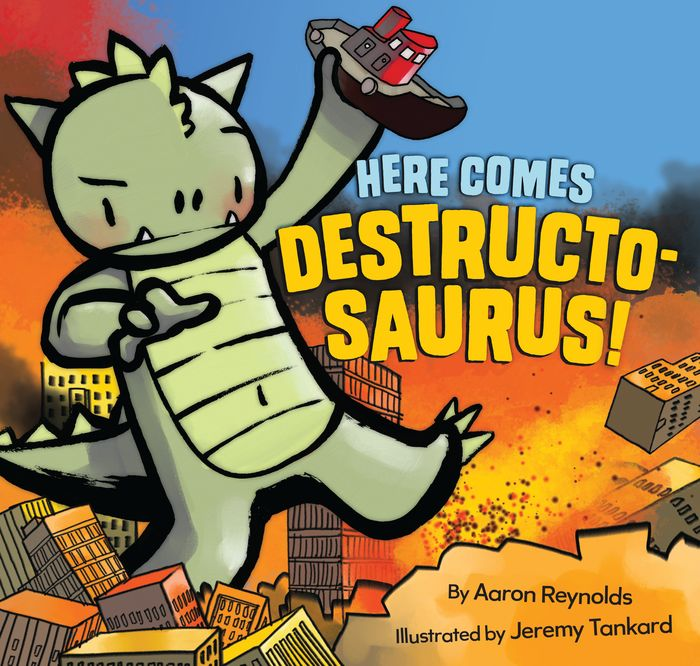 Here Comes Destructosaurus! the alzheimers caregiver