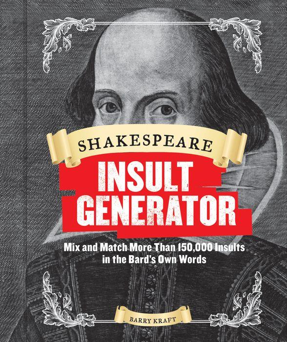 Shakespeare Insult Generator aficionado aficionado afn wb500rw5