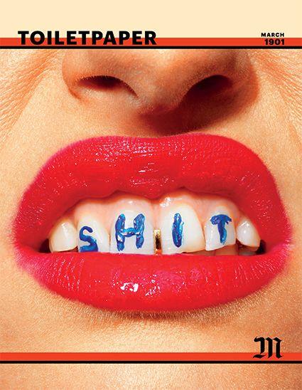 Toiletpaper Magazine 10 hoodz dvd magazine issue 1