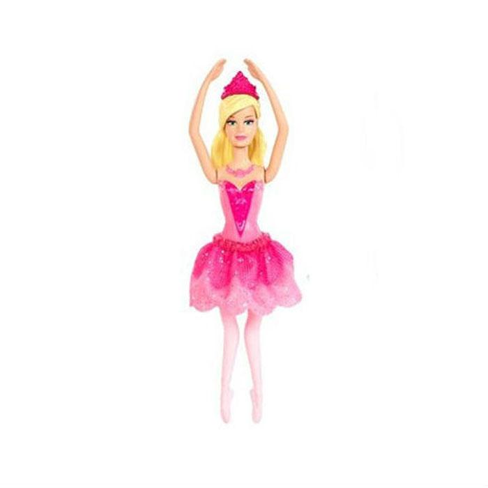 Barbie Мини-кукла Сказочная с короной банан мини текстильная игрушка