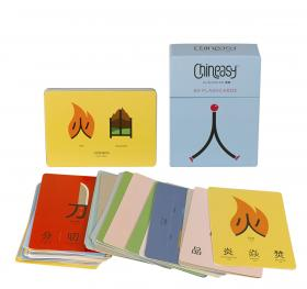 Chineasy 60 Flashcards little friends flashcards набор из 21 карточки