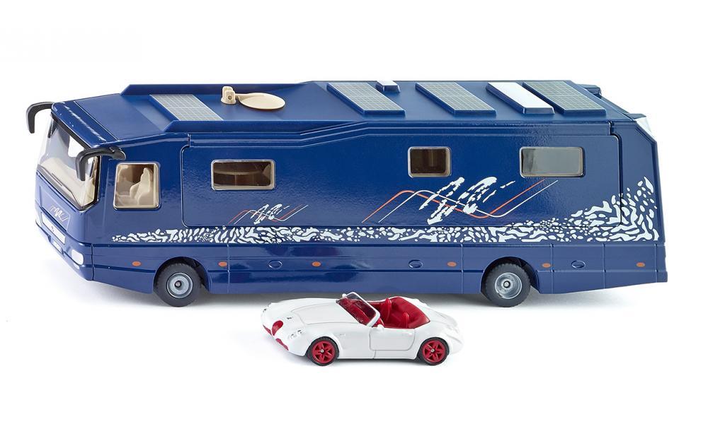 Siku Дом на колесах Volkner Mobil Performance siku машина с домом на колесах