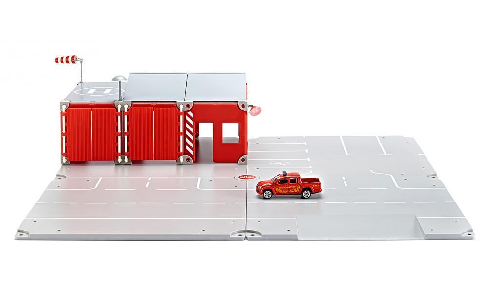 Siku Игровой набор Пожарная бригада машинки siku пожарная машина с лестницей