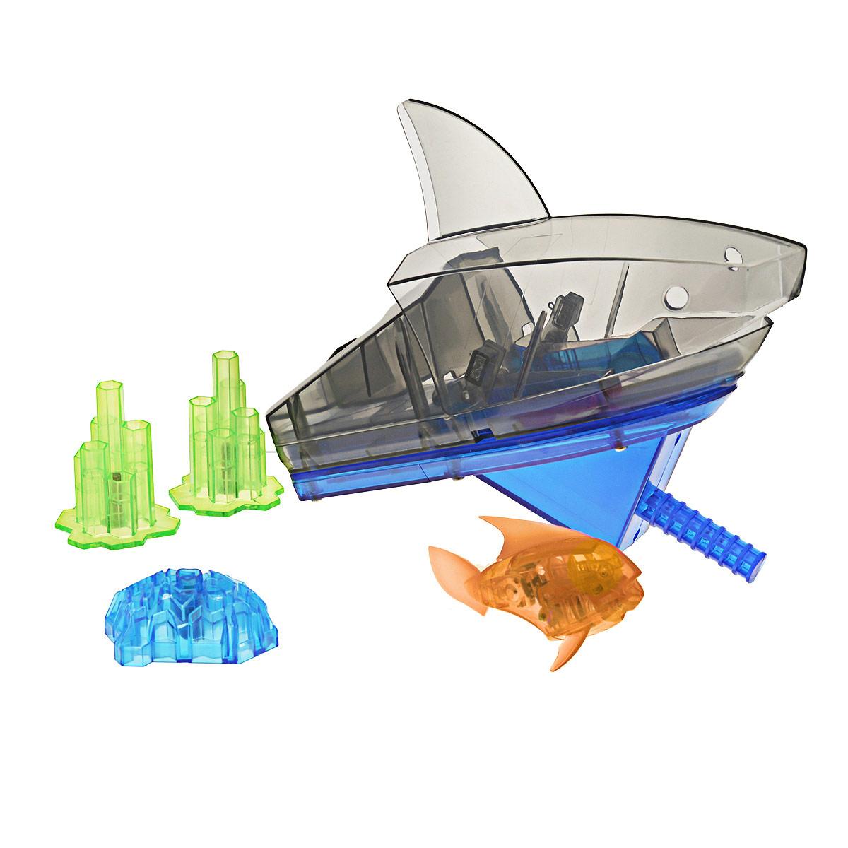 Игровой набор Aqua Bot Shark Tank, цвет: оранжевый sc bot