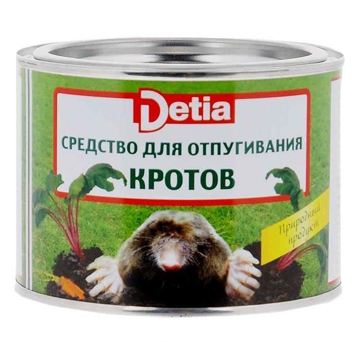 Средство для отпугивания кротов Detia, в шариках, 100 шт9799Средство для отпугивания кротов Detia - это готовое к применению, экологически безопасное для почвы, окружающей среды и человека средство в виде шариков. Надежно защитит садовые участки, огороды и цветники от вреда, причиняемого кротами. Эффективное действие средства основано на натуральном запахе лаванды. Приятный для человека, этот запах является сильно отпугивающим для кротов и надежно защищает от их повторного появления. Средство Detia полностью биологически разлагаемо, разработано на основе натуральных компонентов. Безопасно для домашних животных. Натурально, полностью биологически разлагаемо. Характеристики:Действующее вещество: лавандиновое масло 20 г/кг (2%). Комплектация: 100 шариков.