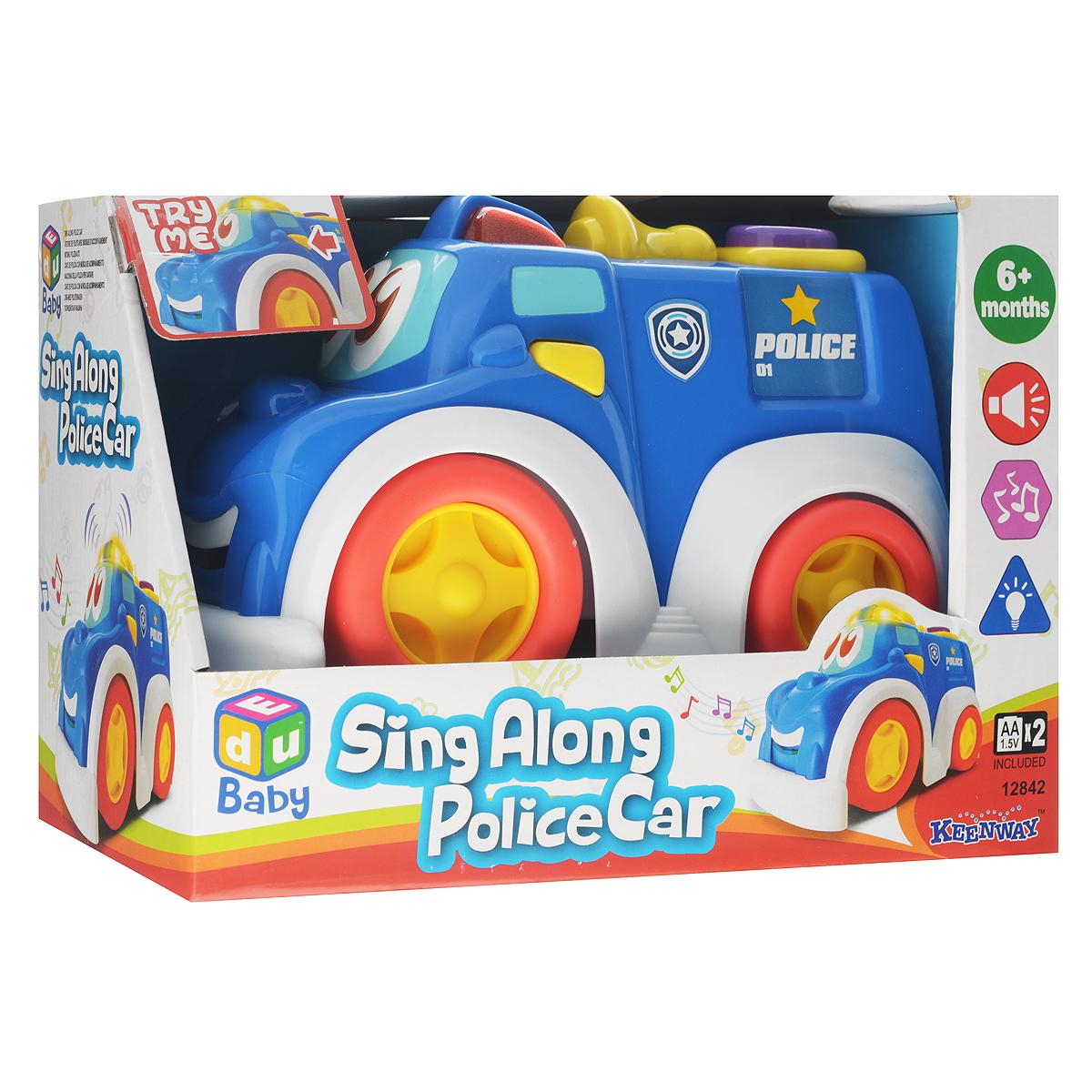 Развивающая игрушка Keenway Полицейская машина игрушка siku полицейская патрульная машина 8 1 3 6 2 9см 1352