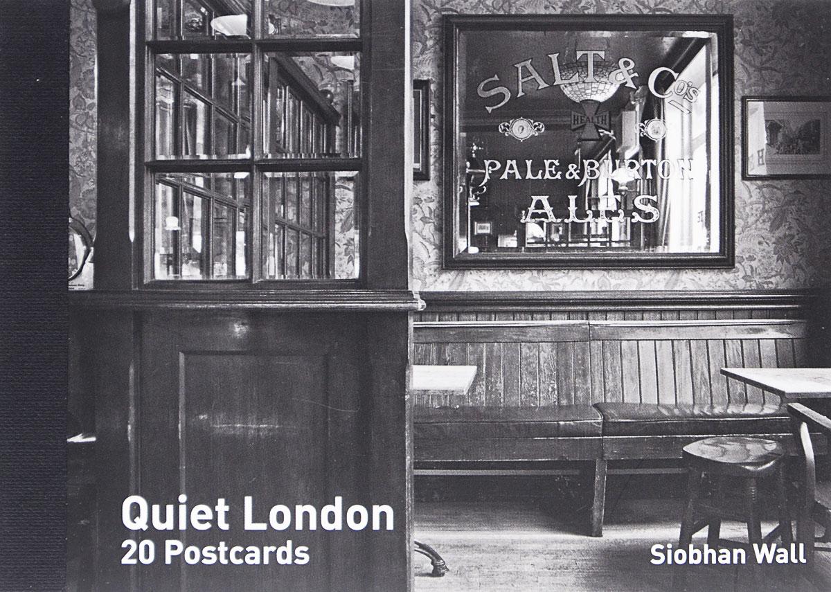 Quiet London Postcard Book (x20) qed london qe001ewrbo66 qed london