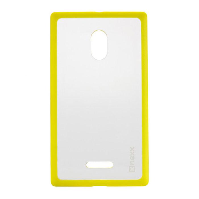Nexx Zero чехол для Nokia XL, YellowNX-MB-ZR-602YТонкий прозрачный чехол Nexx Zero для Nokia XL. Дизайн разработан специально для тех, кто стремится сохранить индивидуальность своего смартфона и обеспечить ему достойную защиту. Тонкий, почти невесомый чехол станет неотъемлемой частью вашего телефона, а насыщенные цвета сделают ваш образ по-летнему ярким.