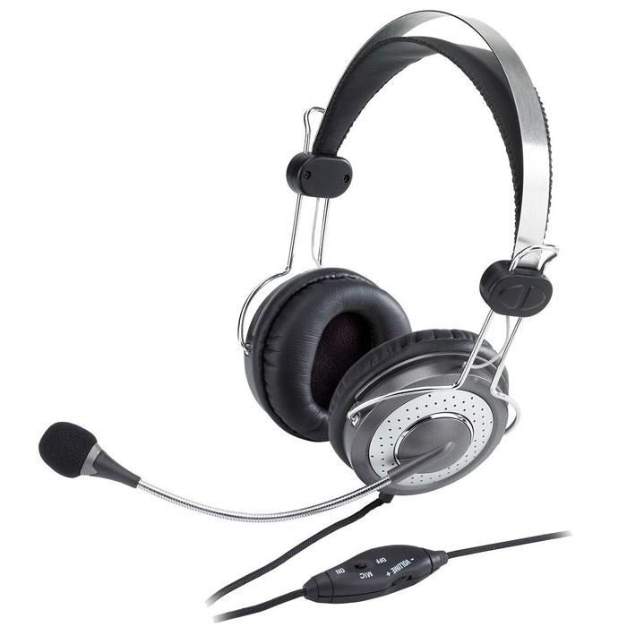 Genius HS-04SU гарнитура31710045100Genius HS-04SU - это удобные и стильные наушники. Они подходят для прослушивания музыки, компьютерных игр ионлайн-общения. Во встроенном в гарнитуру микрофоне используется технология шумоподавления, чтообеспечивает при аудио-контакте чистый звук без посторонних помех. Также, для удобства использования,наушники снабжены регулятором громкости и кнопкой отключения микрофона.