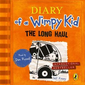 The Long Haul (Diary of a Wimpy Kid book 9) hot vintage notebook paper leather diary journal spiral kraft notebook notepad office school supplies gift note book n113
